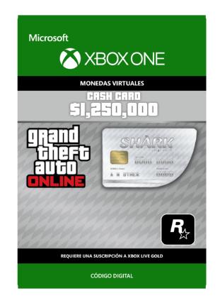 Moneda De Juego Gran Tiburón Blanco Para GTA Online