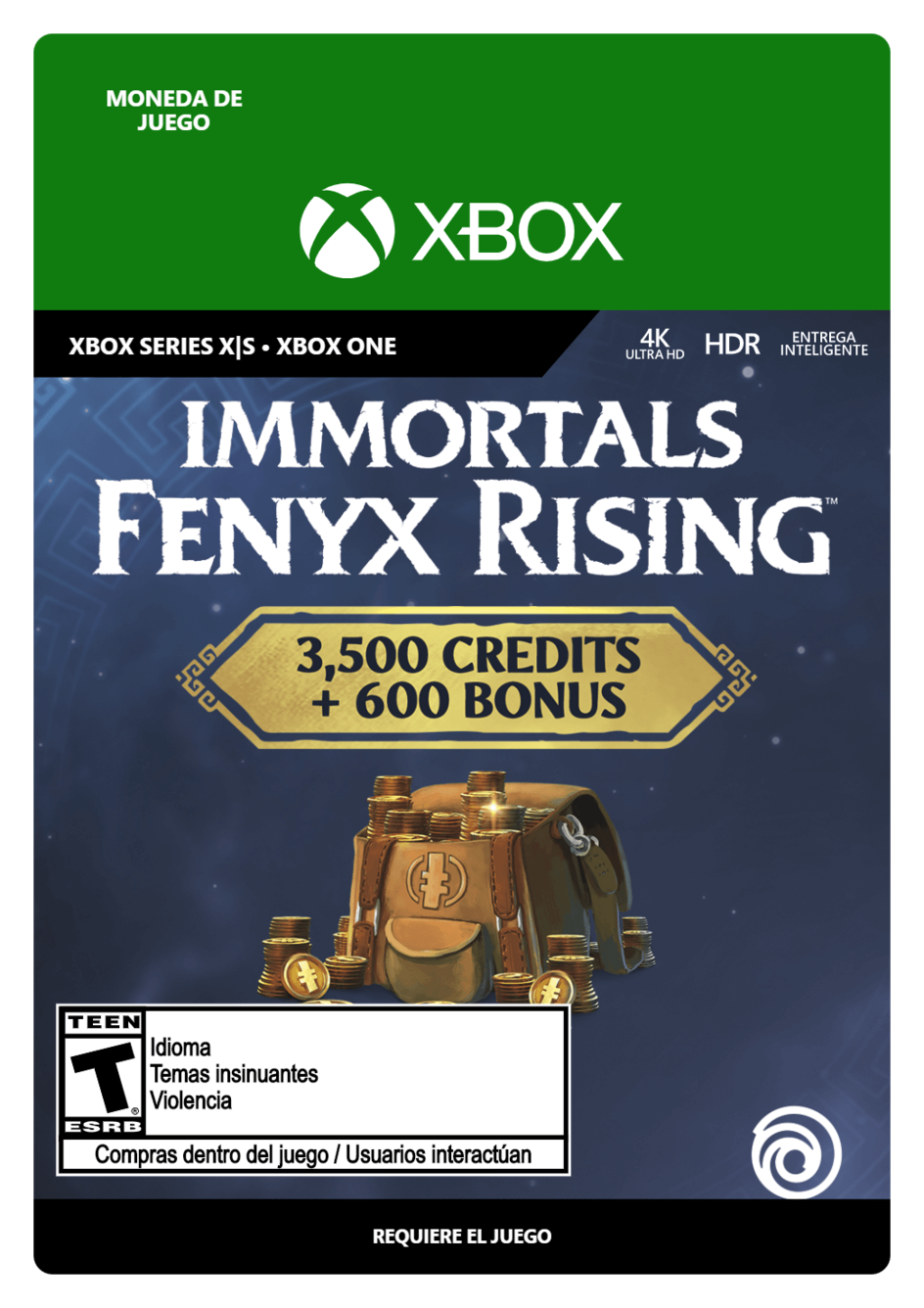 Immortals Fenyx Rising Colossal Credits Pack 4100
