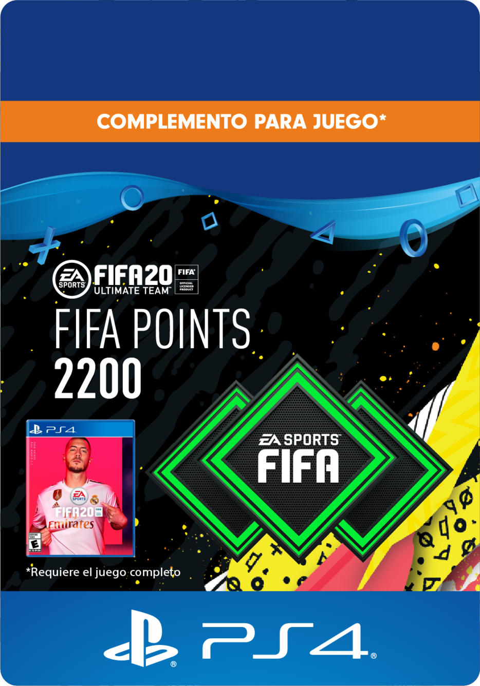 FIFA 20 Ultimate Team Points - 2200 Puntos