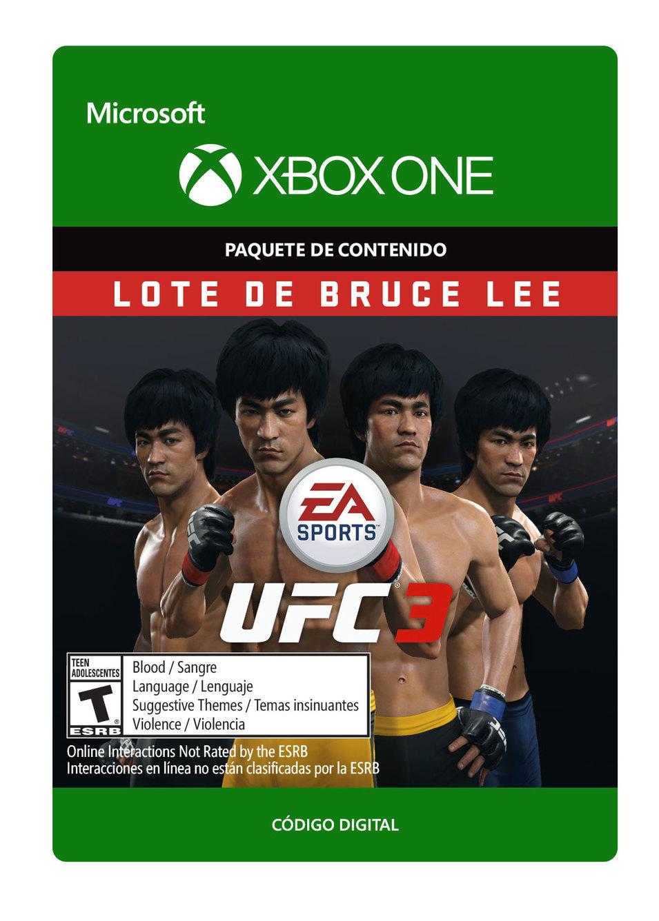UFC 3 Lote de Bruce Lee