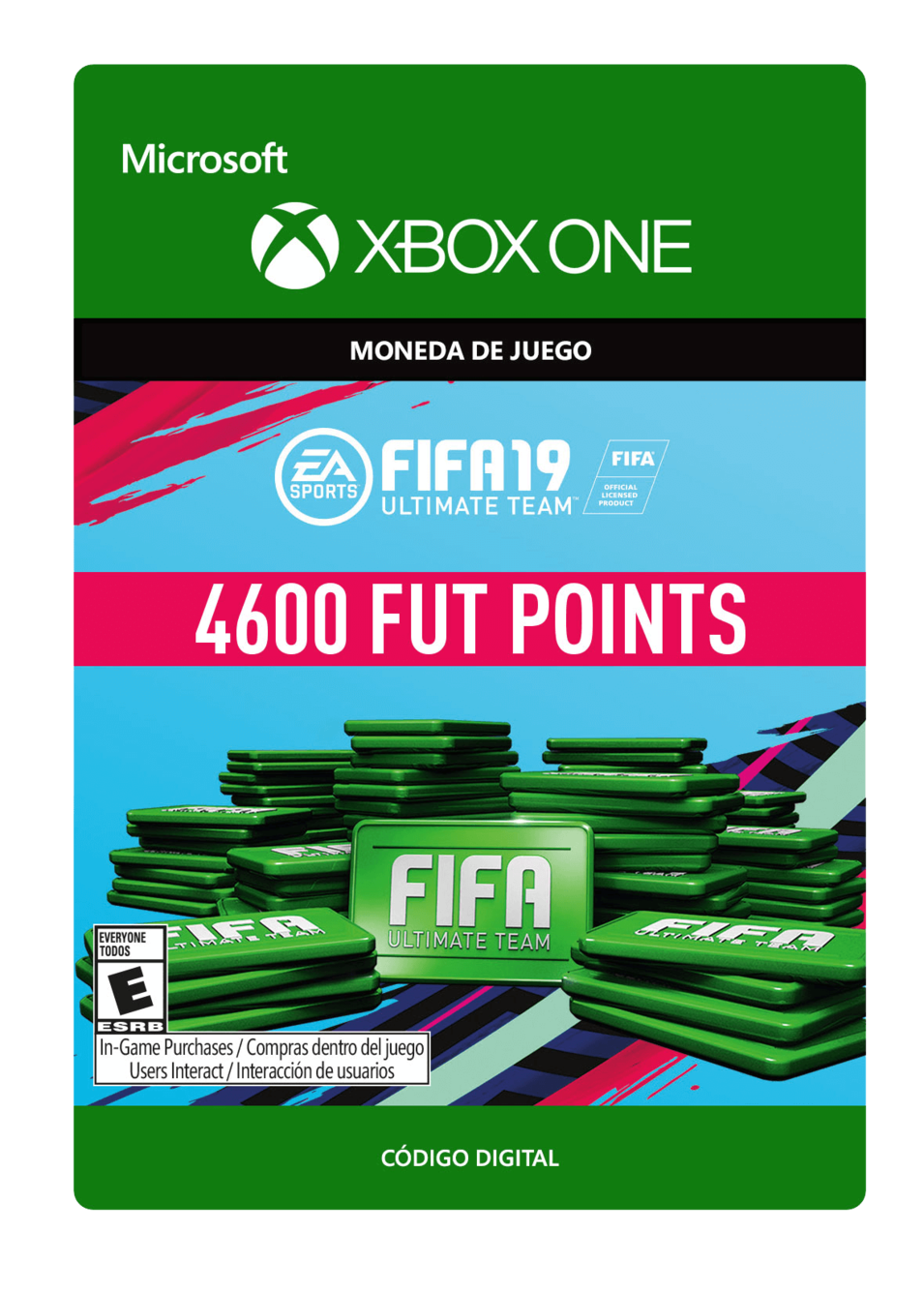 FIFA 19 Ultimate Team Points Pack De 4600