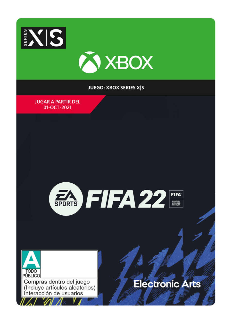 FIFA 22: Standard Edition - Xbox Series X S - Pre-Purchase