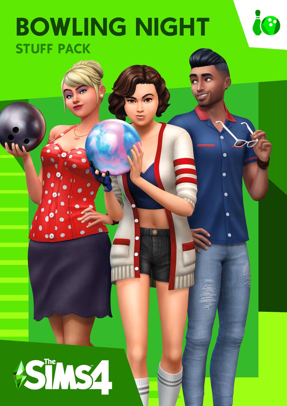 The Sims 4 Bowling Night Stuff - Origin