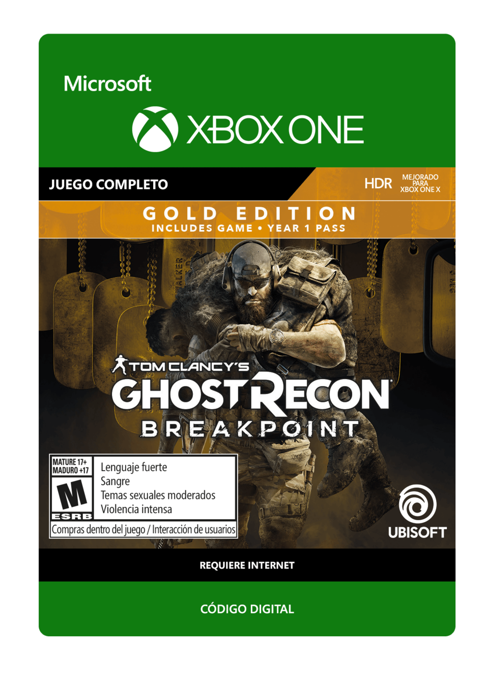 Tom Clancy s Ghost Recon Breakpoint Gold Edition