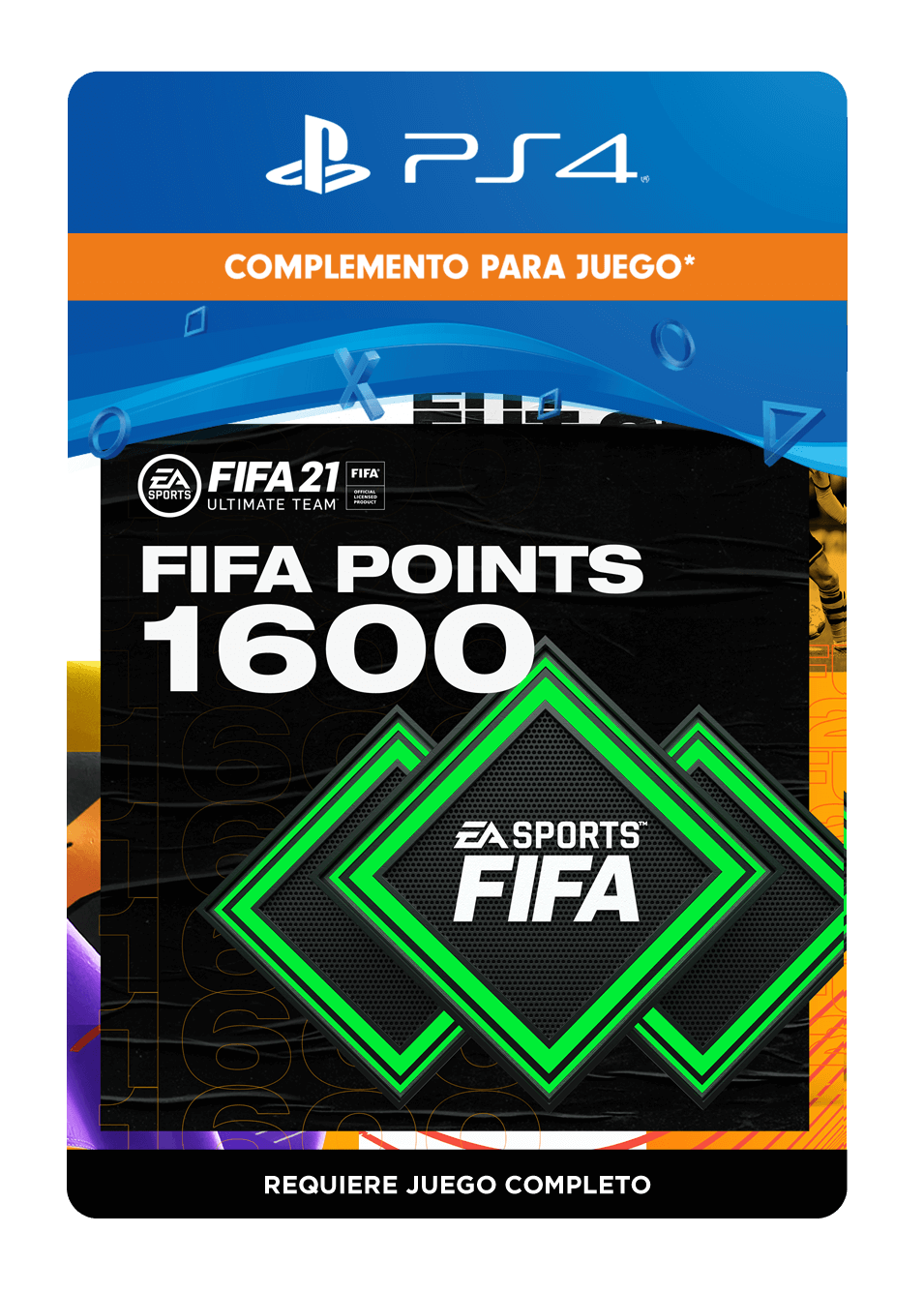 FIFA 21 Ultimate Team Points 1600 Puntos