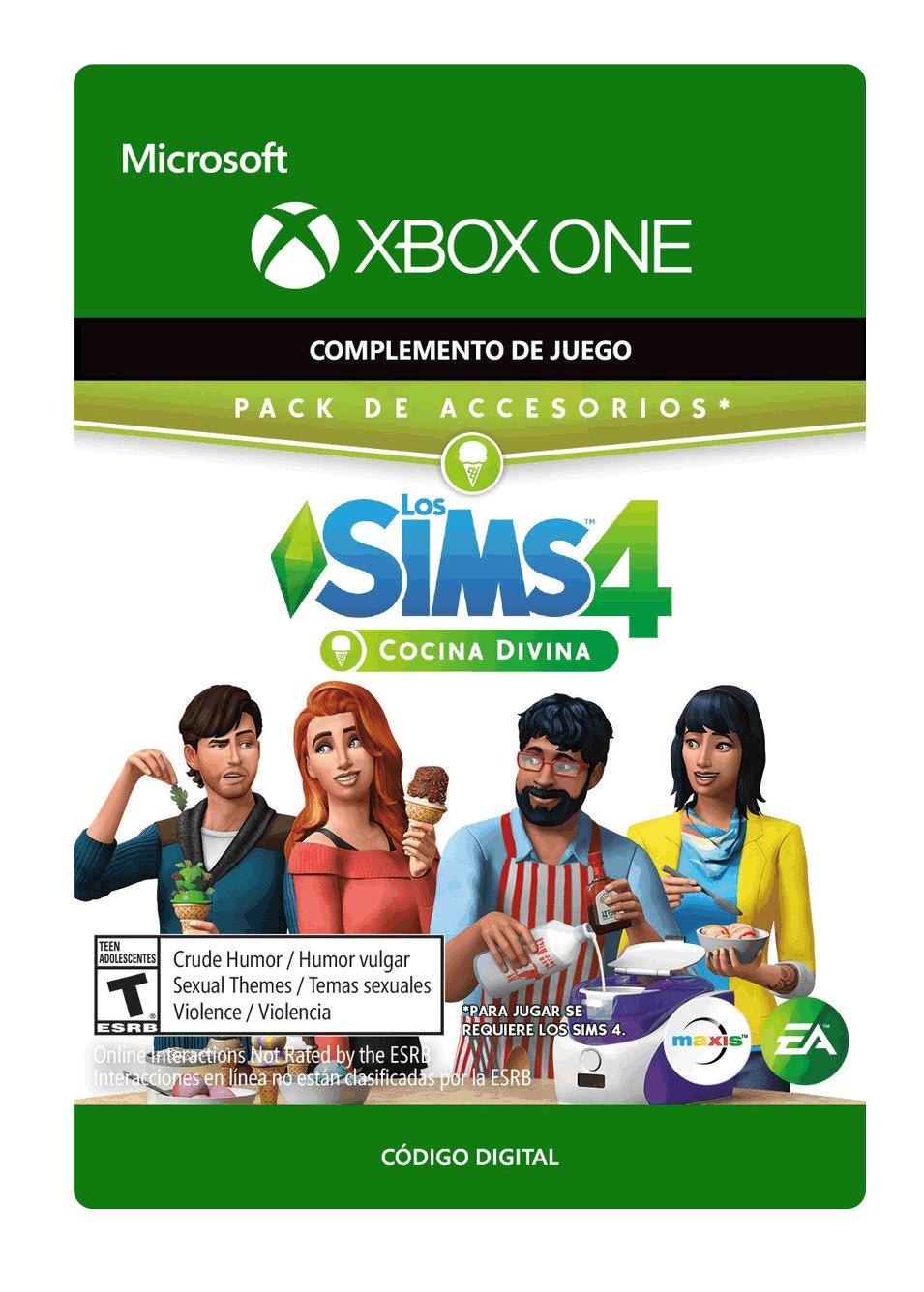 The Sims 4 Cocina Divina Pack de Accesorios