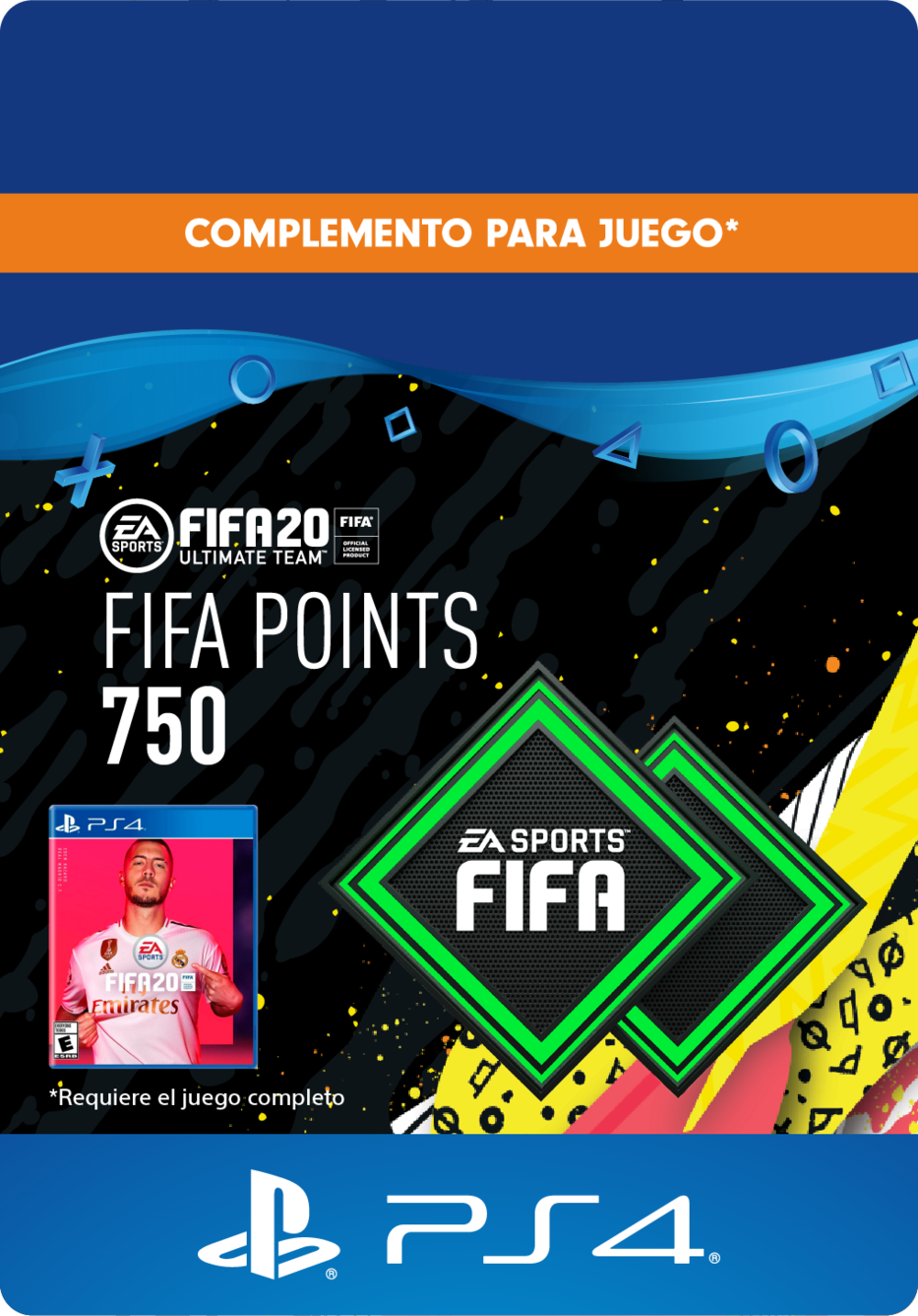 FIFA 20 Ultimate Team Points - 750 Puntos