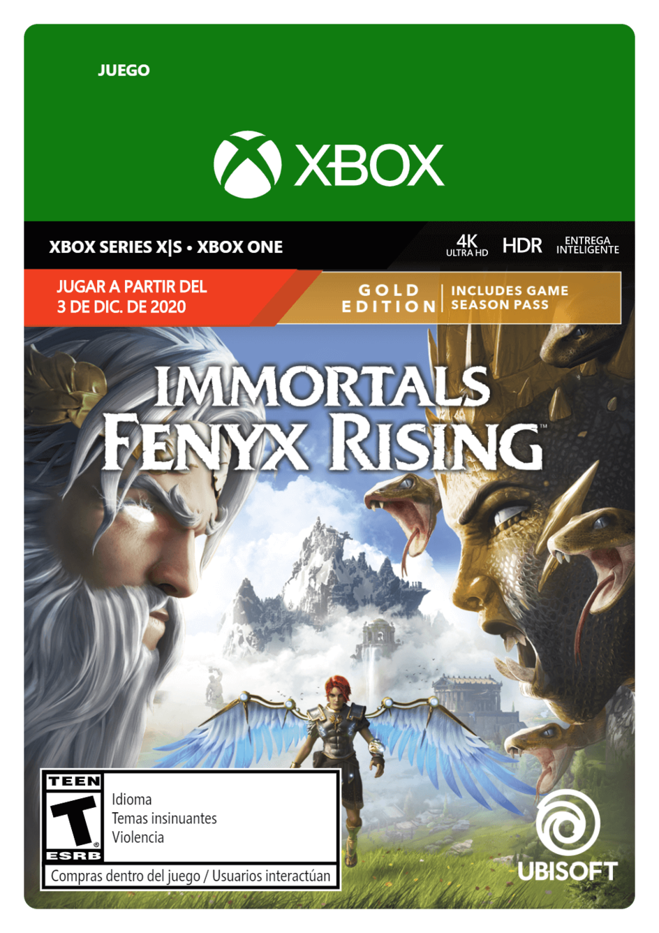 Immortals Fenyx Rising Gold Edition (Pre Venta)