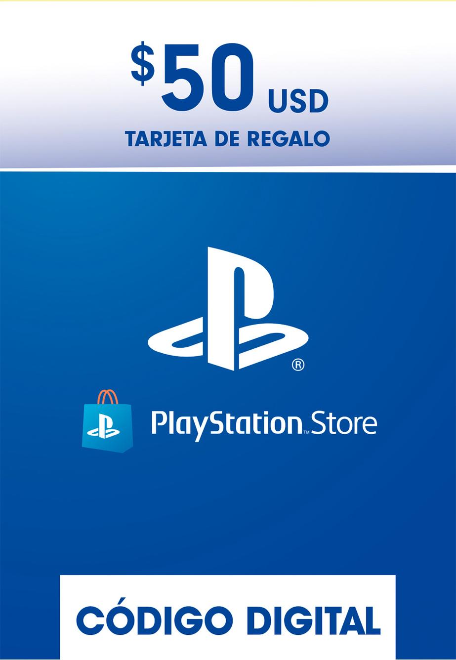 Tarjeta de Regalo PlayStation Store de 50 Dolares