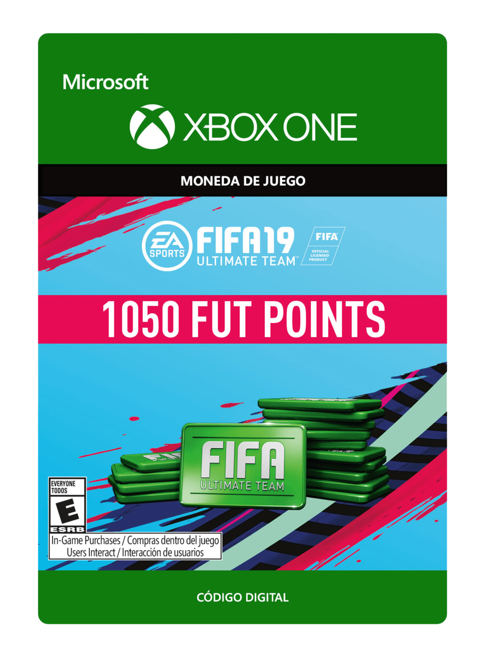 FIFA 19 Ultimate Team Points Pack De 1050