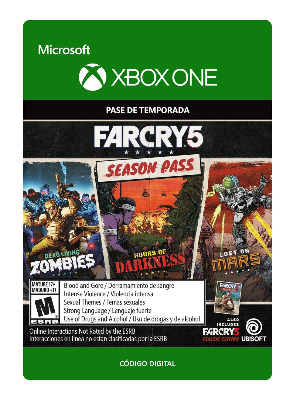 Far Cry 5 - Pase de Temporada