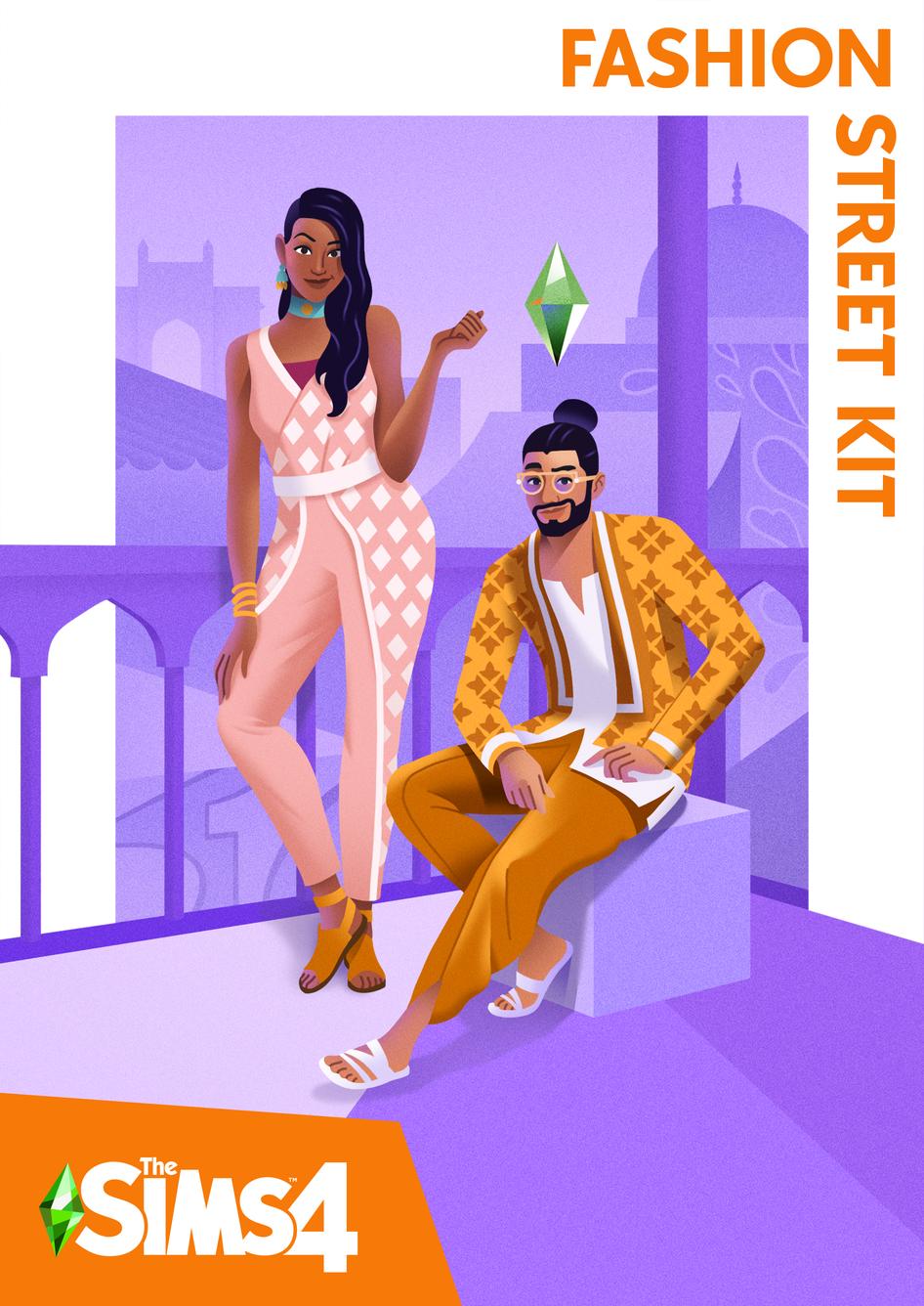 The Sims 4 Fashion Street Kit(ROW) - Origin