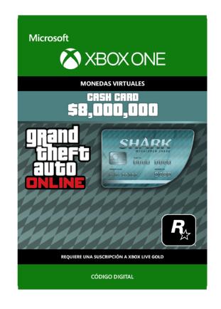 Moneda De Juego Tiburón Megalodonte Para Grand Theft Auto Online