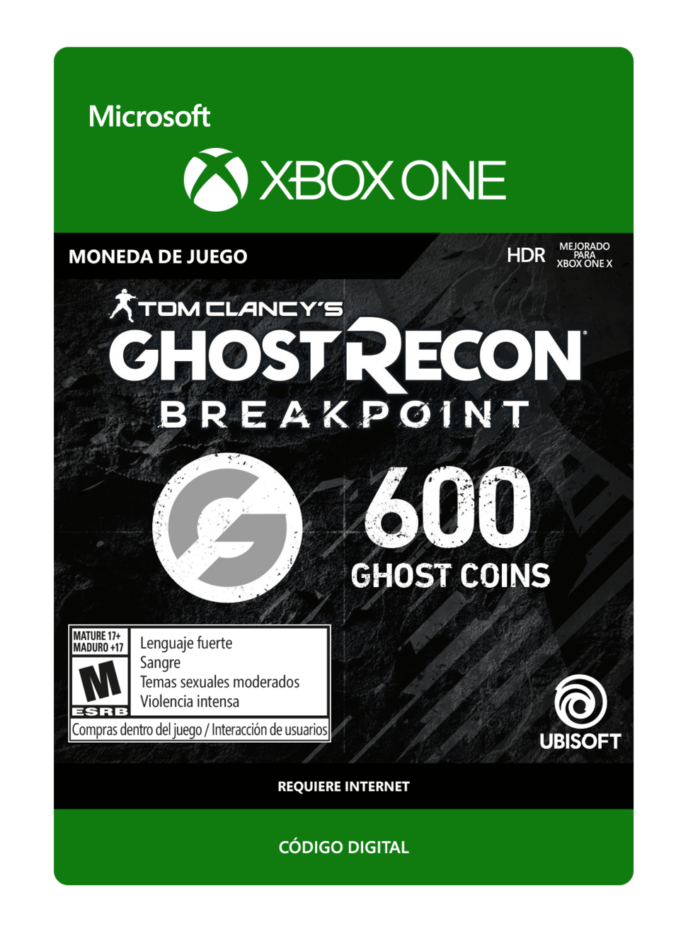 Tom Clancy s Ghost Recon Breakpoint 600 Ghost coins