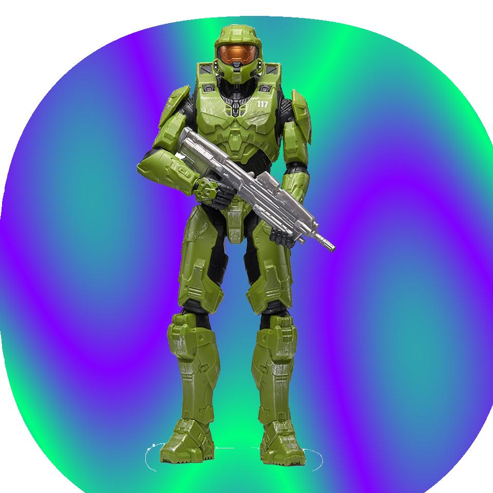 Halo 12  Figura - Master Chief