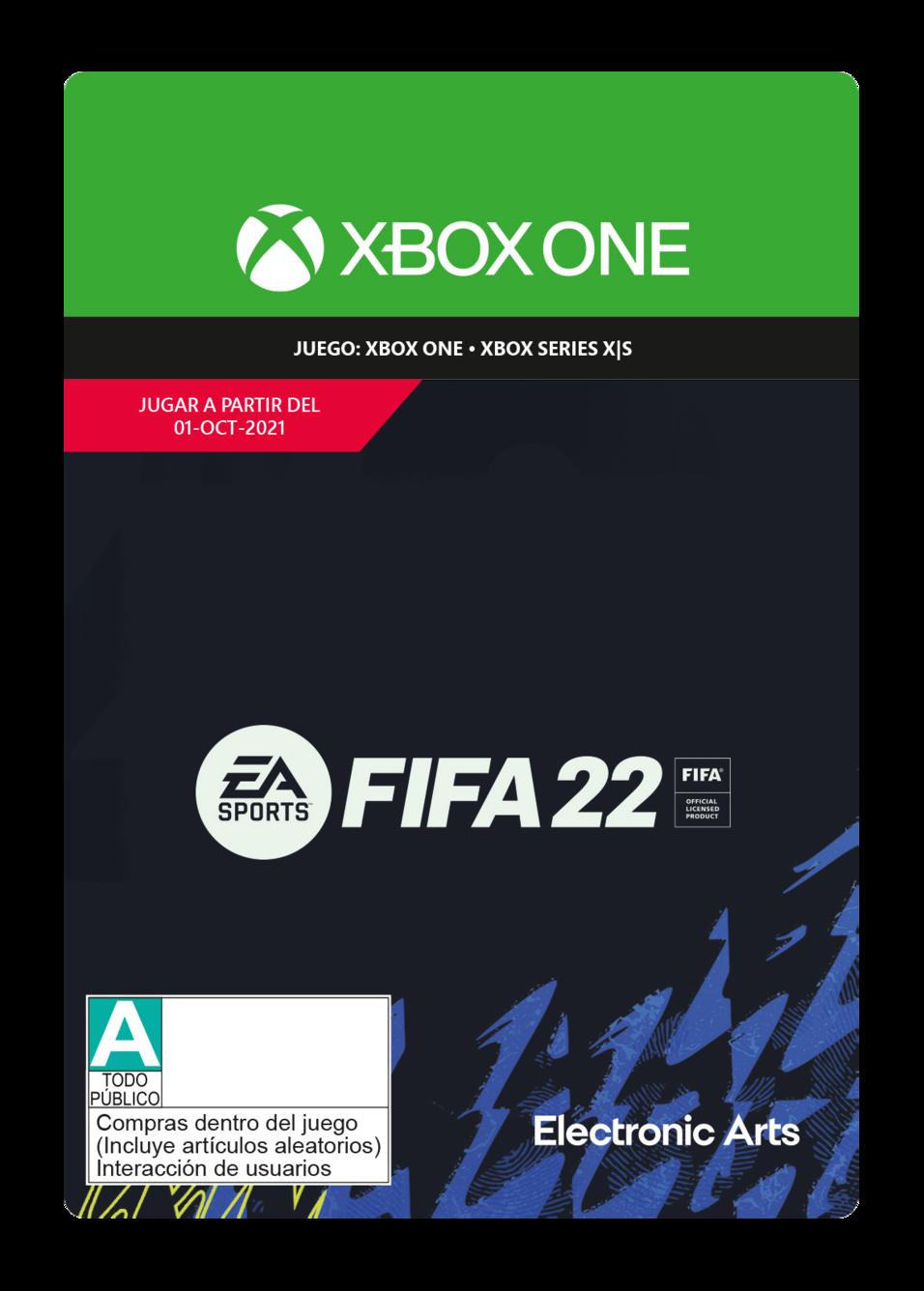 FIFA 22: Standard Edition - Xbox One - Pre-Purchase