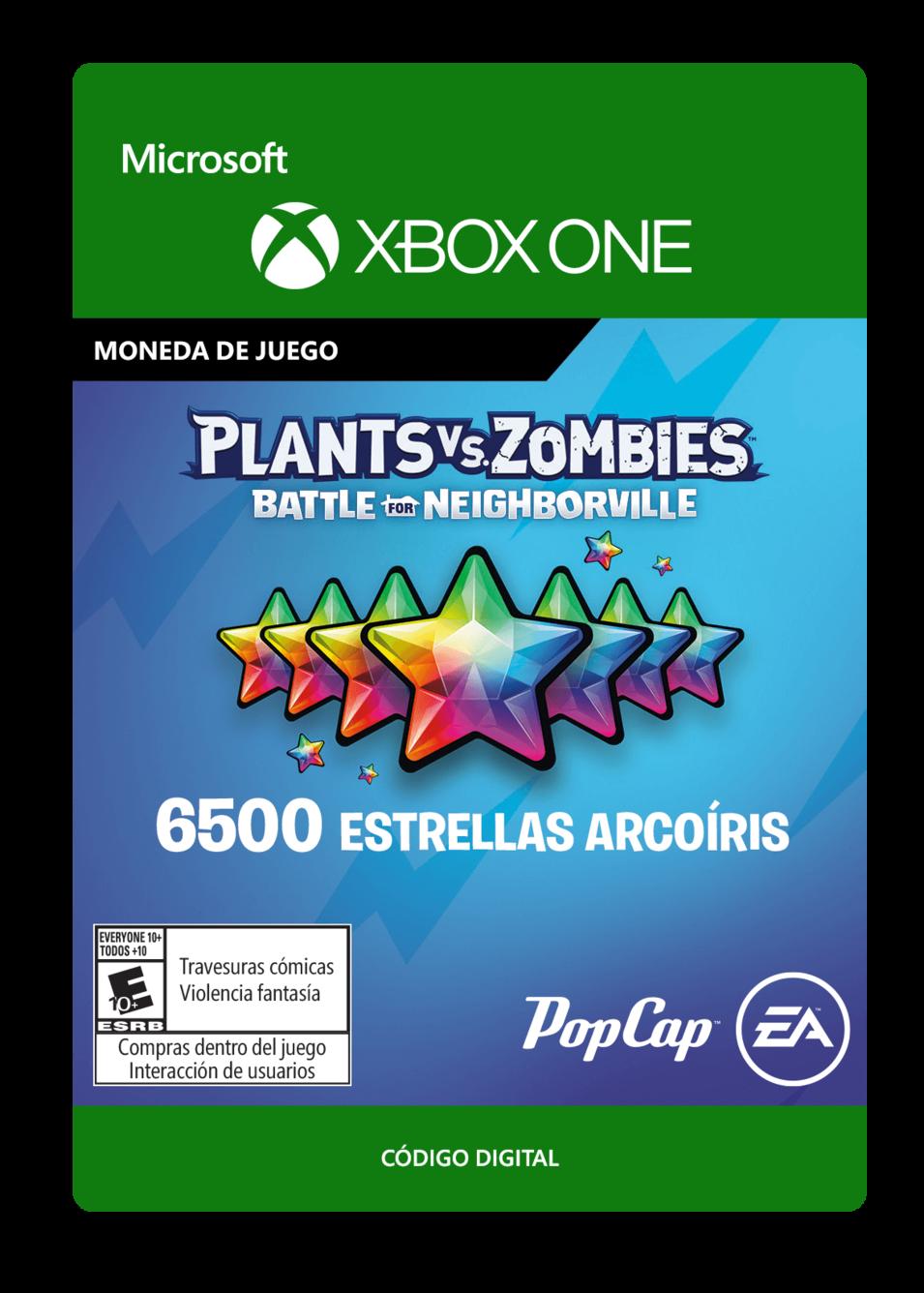 Plants vs. Zombies: Battle for Neighborville: 6500 Rainbow Stars Estrellas Arcoíris