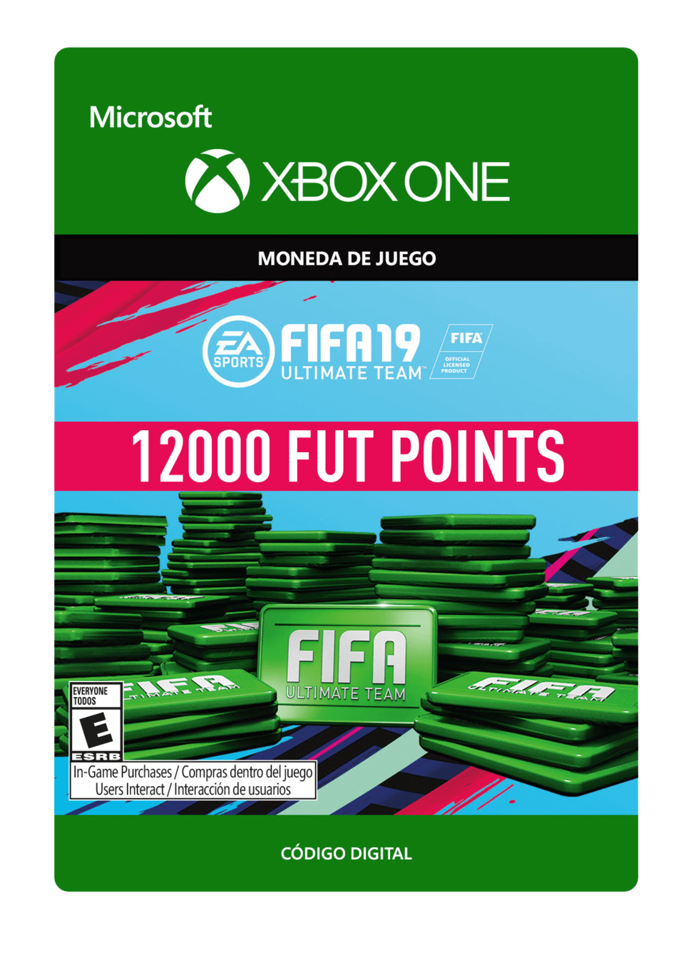 FIFA 19 Ultimate Team Points Pack De 12000