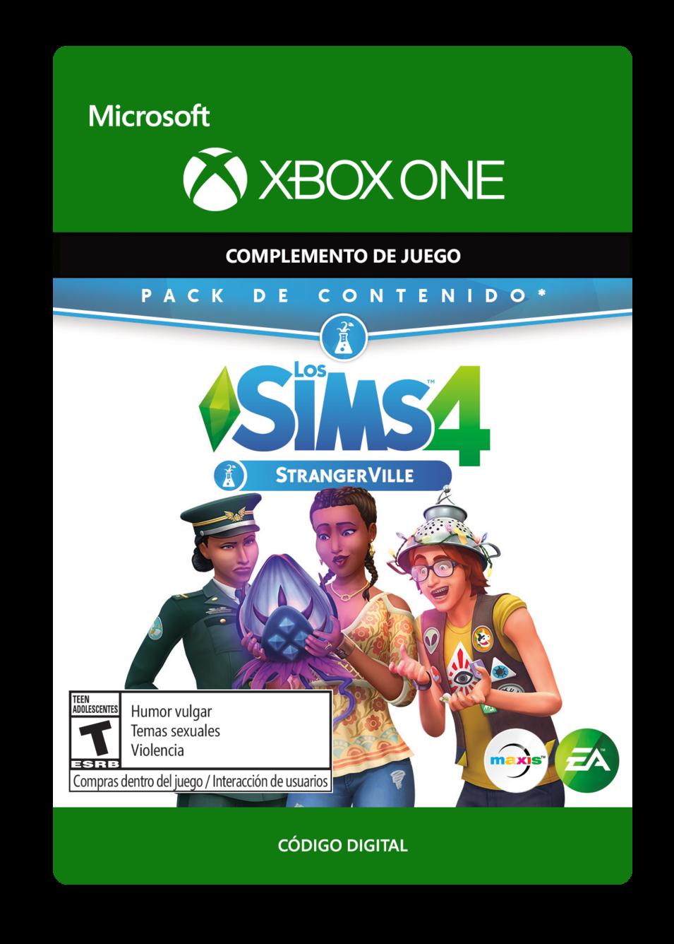 The Sims 4 StrangerVille DLC