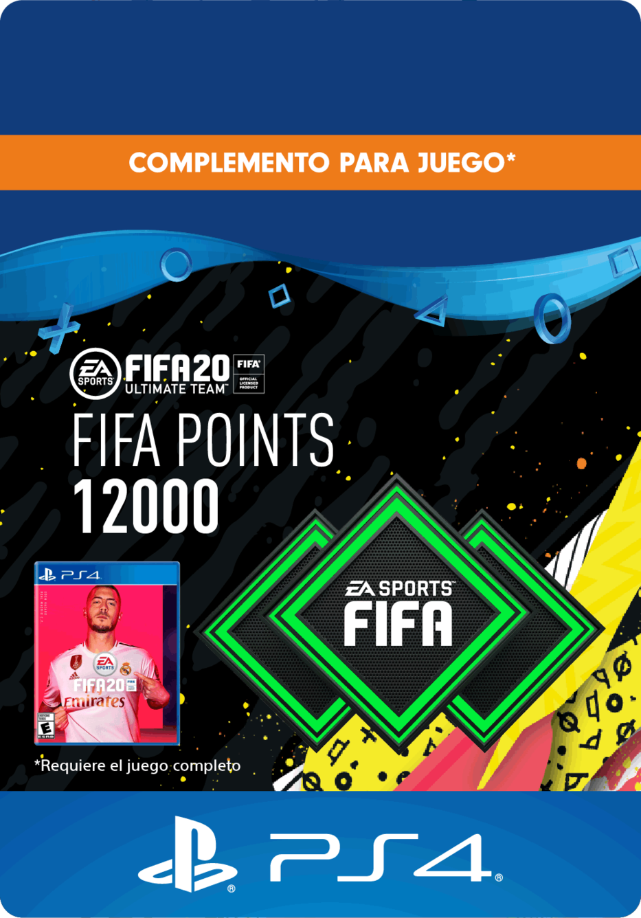 FIFA 20 Ultimate Team Points - 12000 Puntos