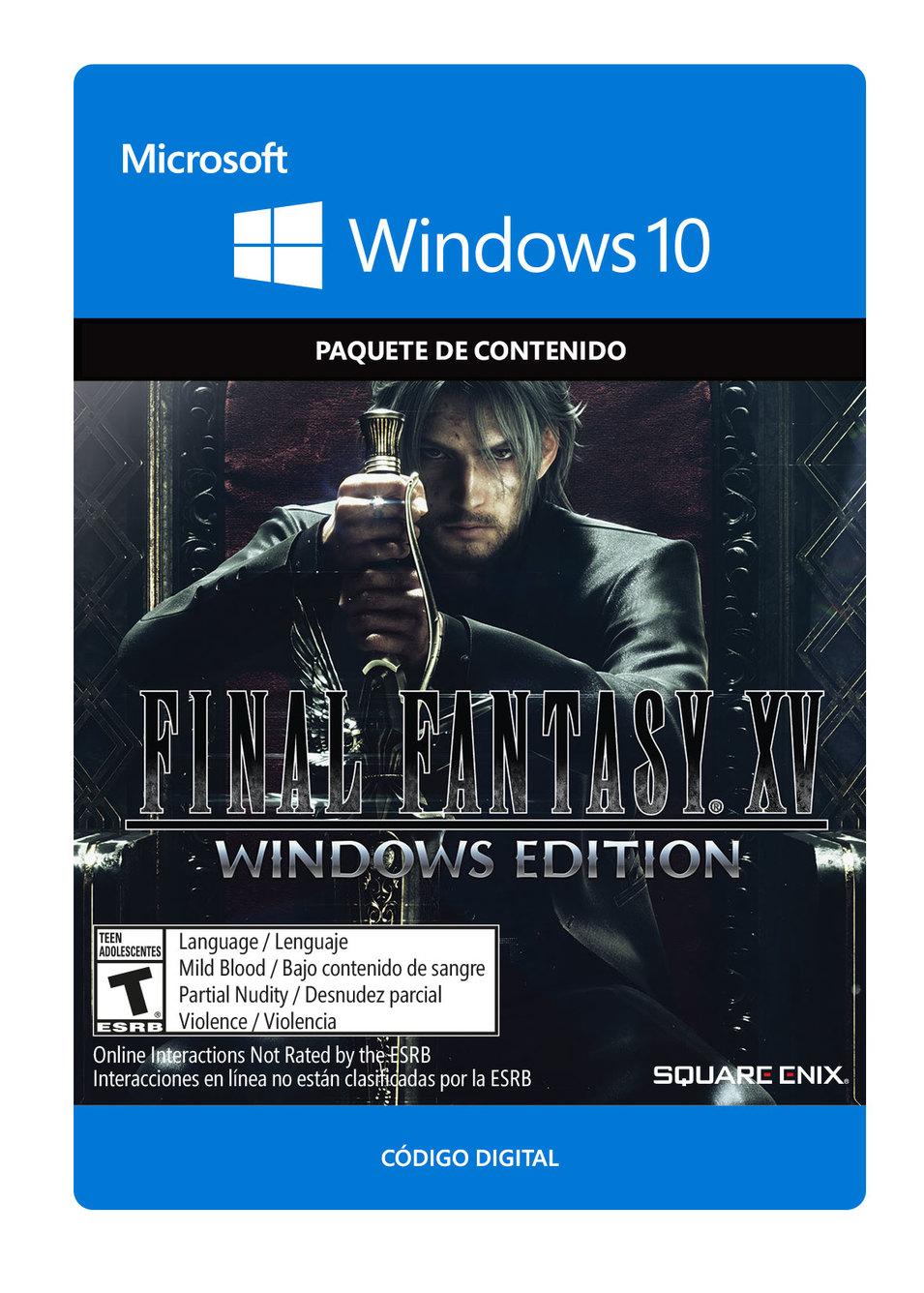 Final Fantasy XV para Windows 10