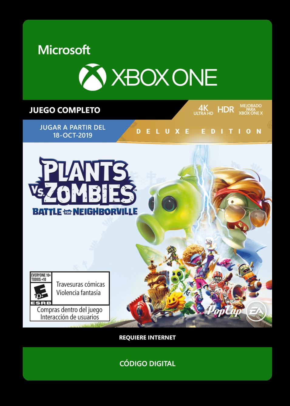 Plants vs Zombies Battle for Neighborville - Deluxe Edition