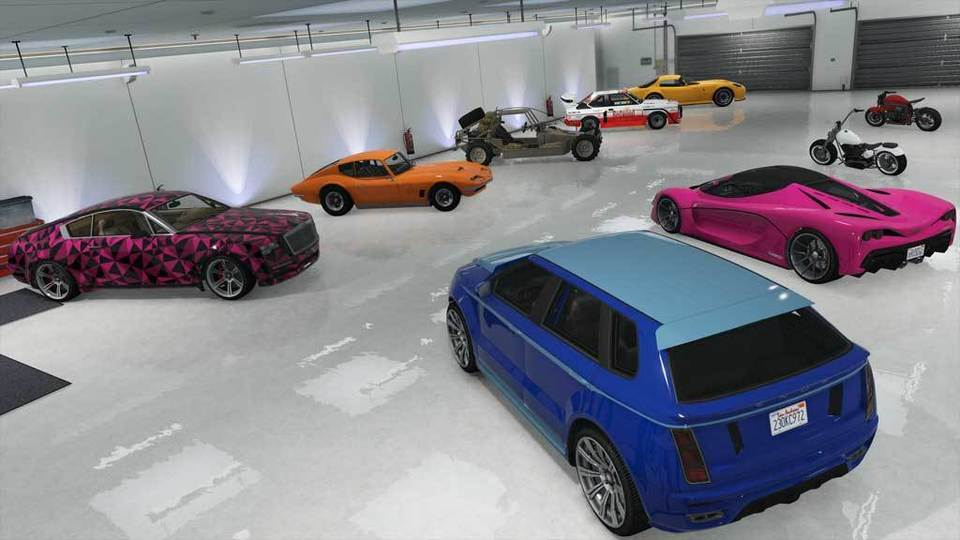 GTA V con Pack De Inicio Negocios Criminales
