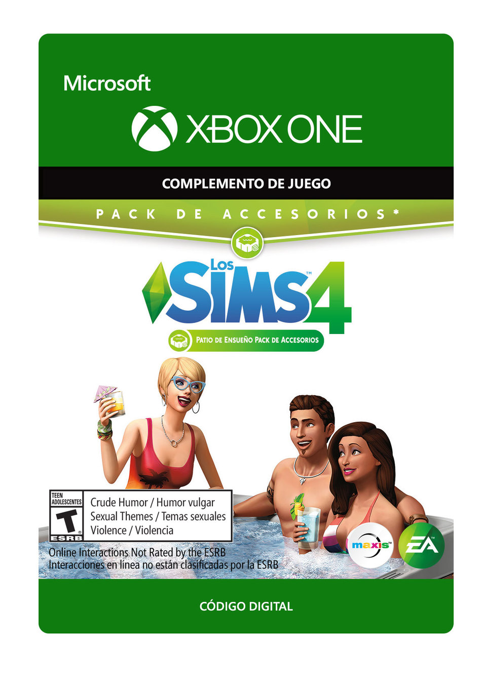 Los Sims 4 Patio de Ensueño Pack de Accesorios