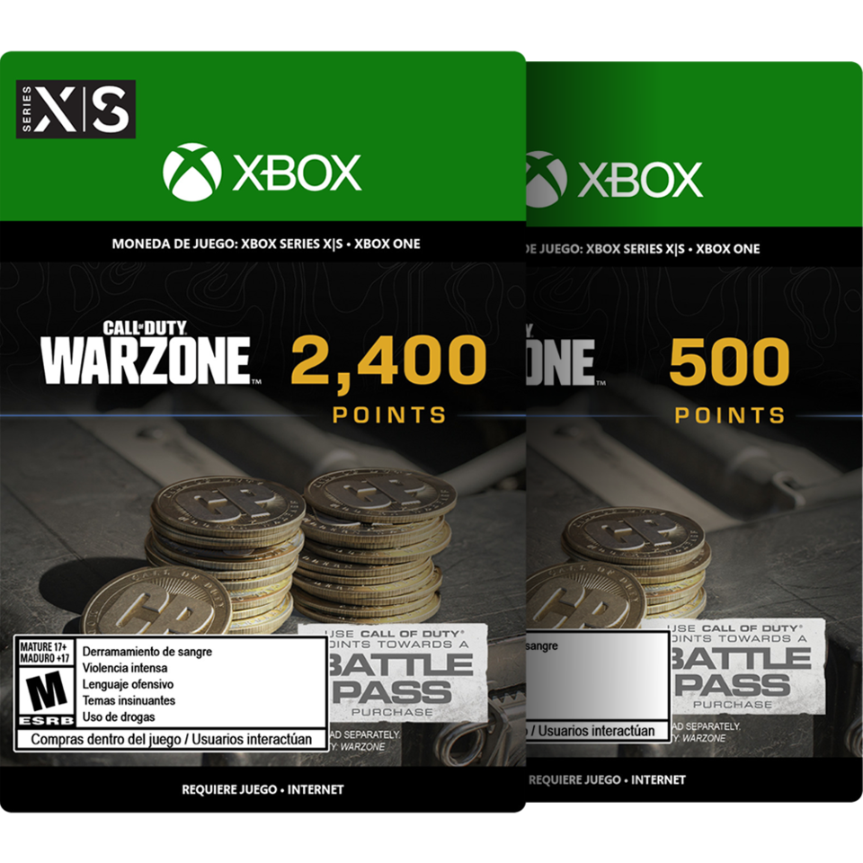Call of Duty: Warzone Points - 2900