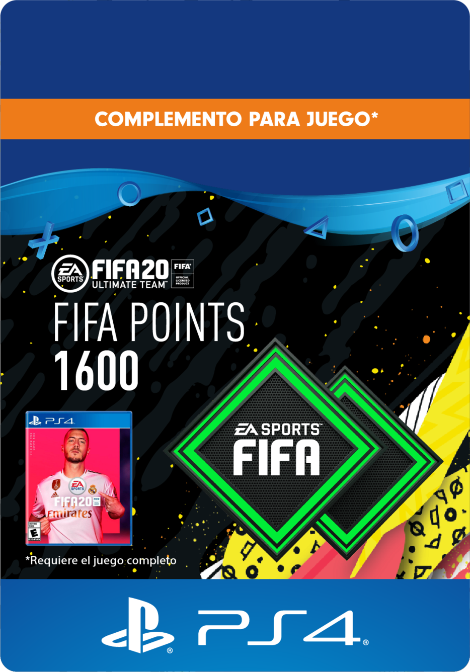 FIFA 20 Ultimate Team Points - 1600 Puntos