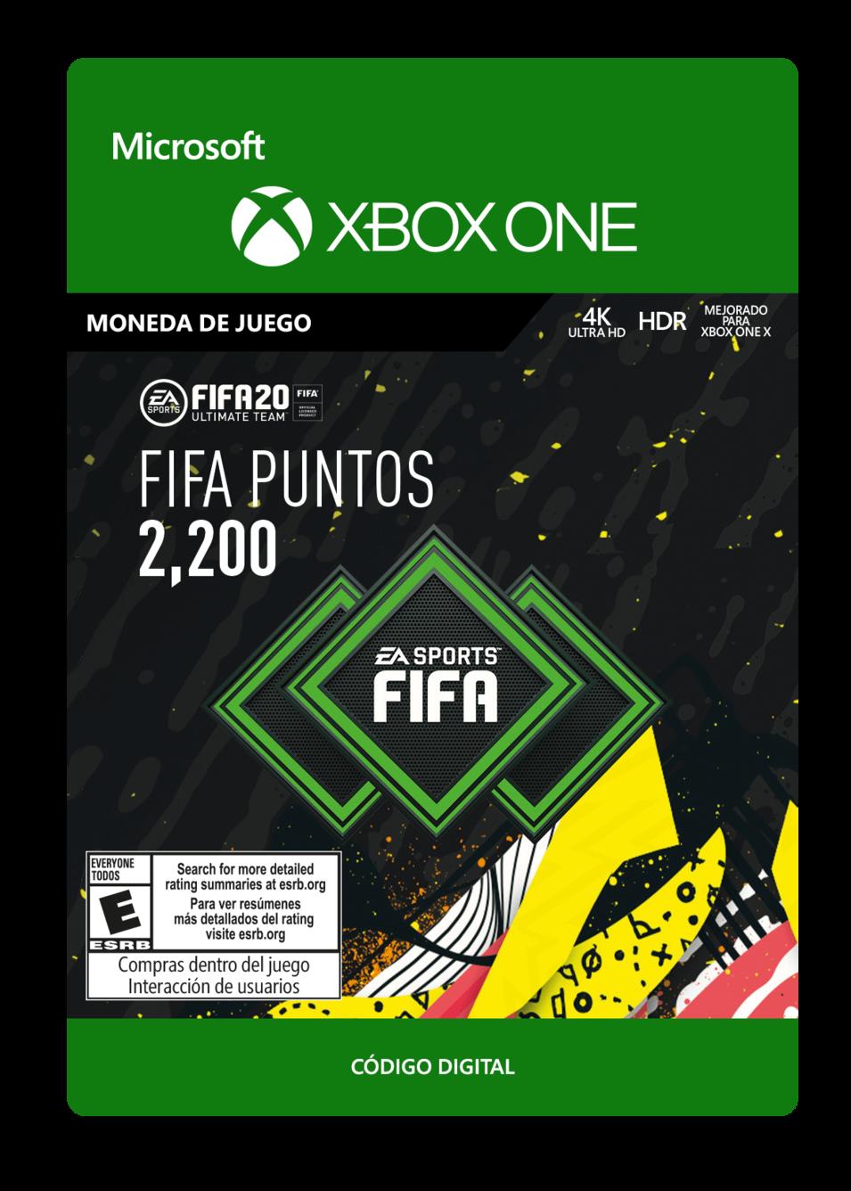 FIFA 20 Ultimate Team - 2200 puntos