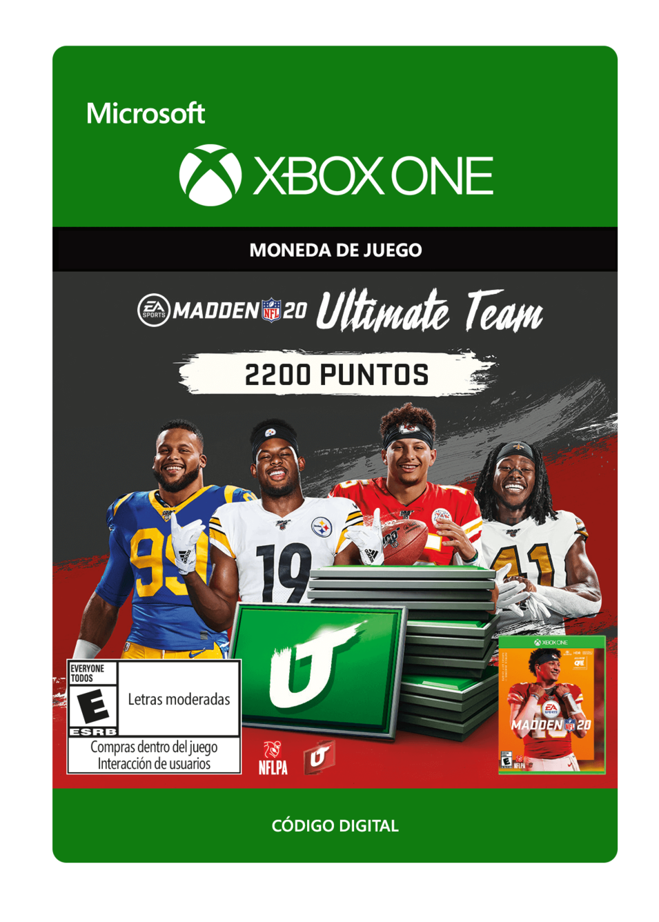 Madden NFL 20: MUT 2200 Madden Points Pack