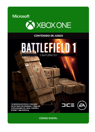 Battlefield™ 1: 5 Battlepacks