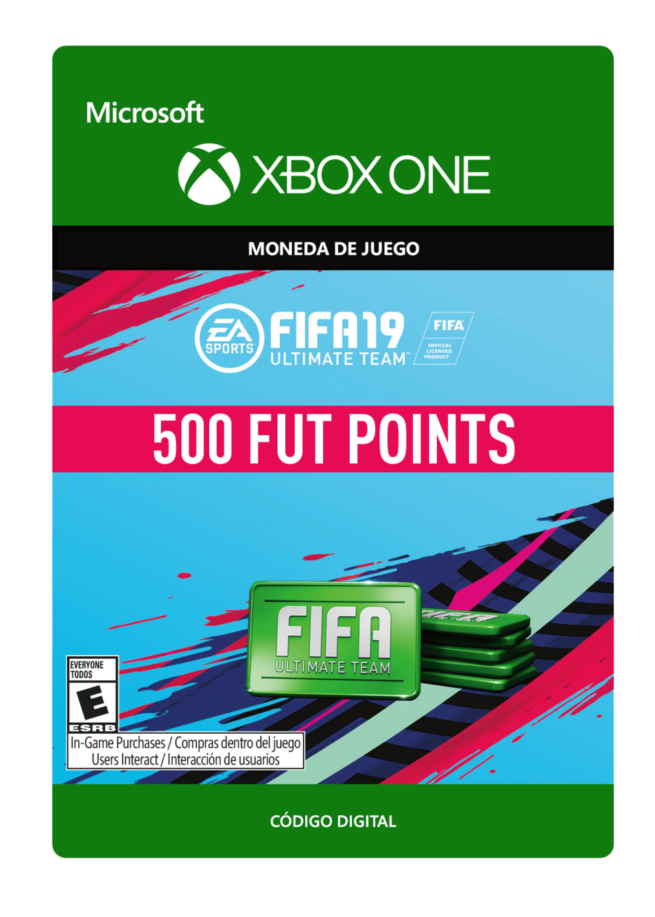 FIFA 19 Ultimate Team Points Pack De 500