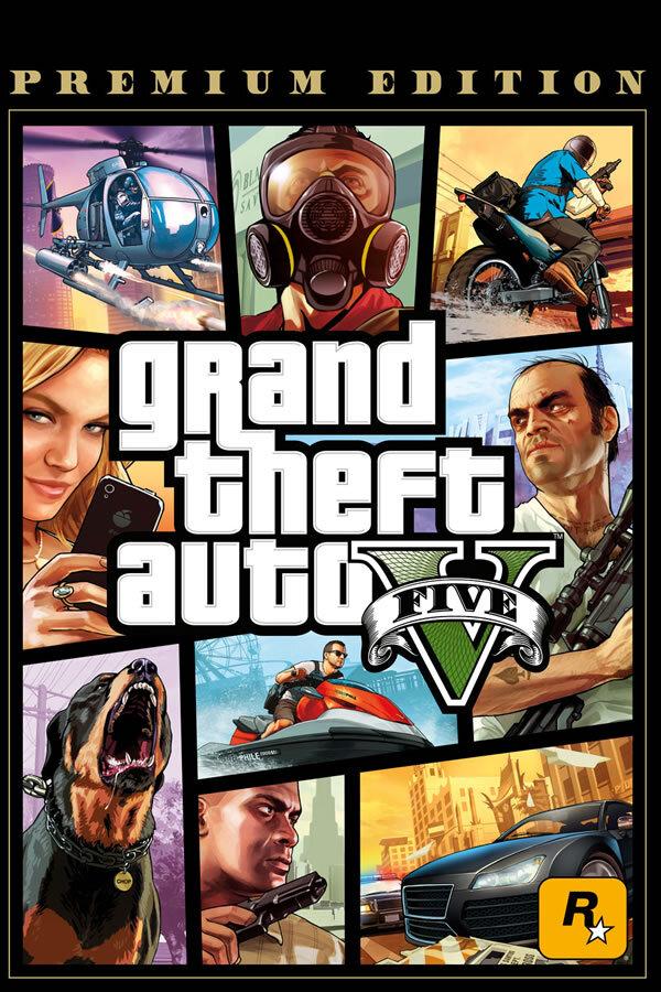 Grand Theft Auto V: Premium Online Edition - Social Club