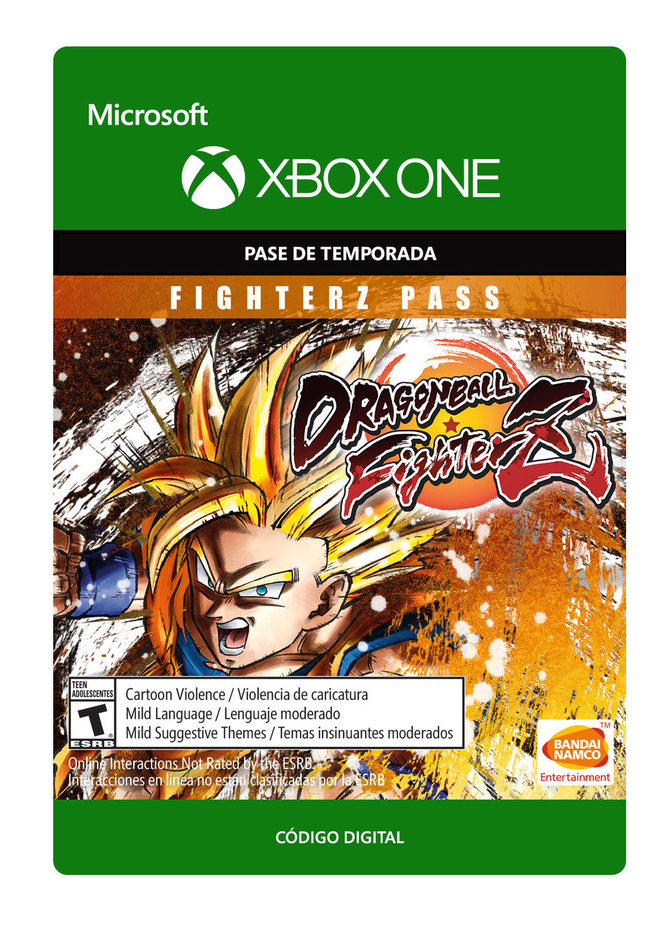 Dragon Ball Fighterz: Pase Fighter Z