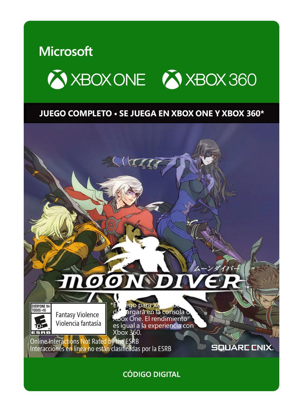 Moon Diver