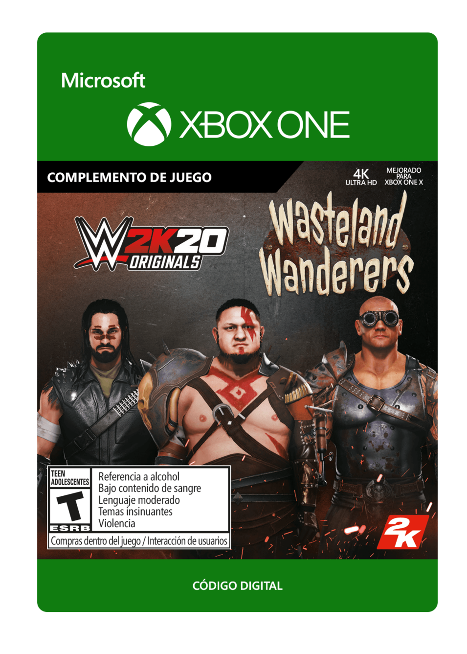 WWE 2K20 - Originals: Wasteland Wanderers - DLC