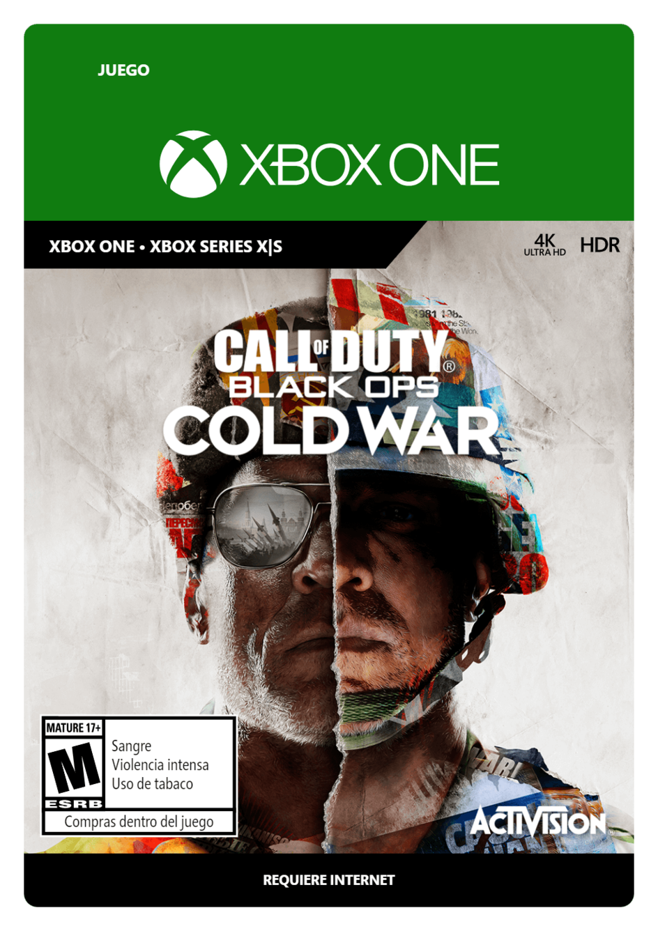 Call of Duty Black Ops Cold War Standard Edition