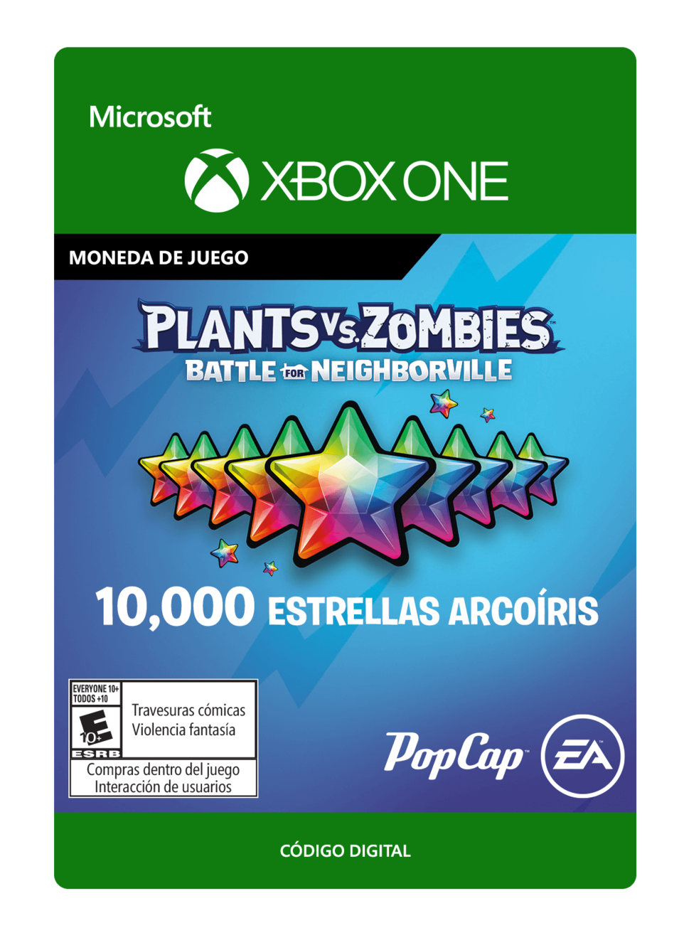 Plants vs. Zombies: Battle for Neighborville: 10000 Rainbow Stars Estrellas Arcoíris