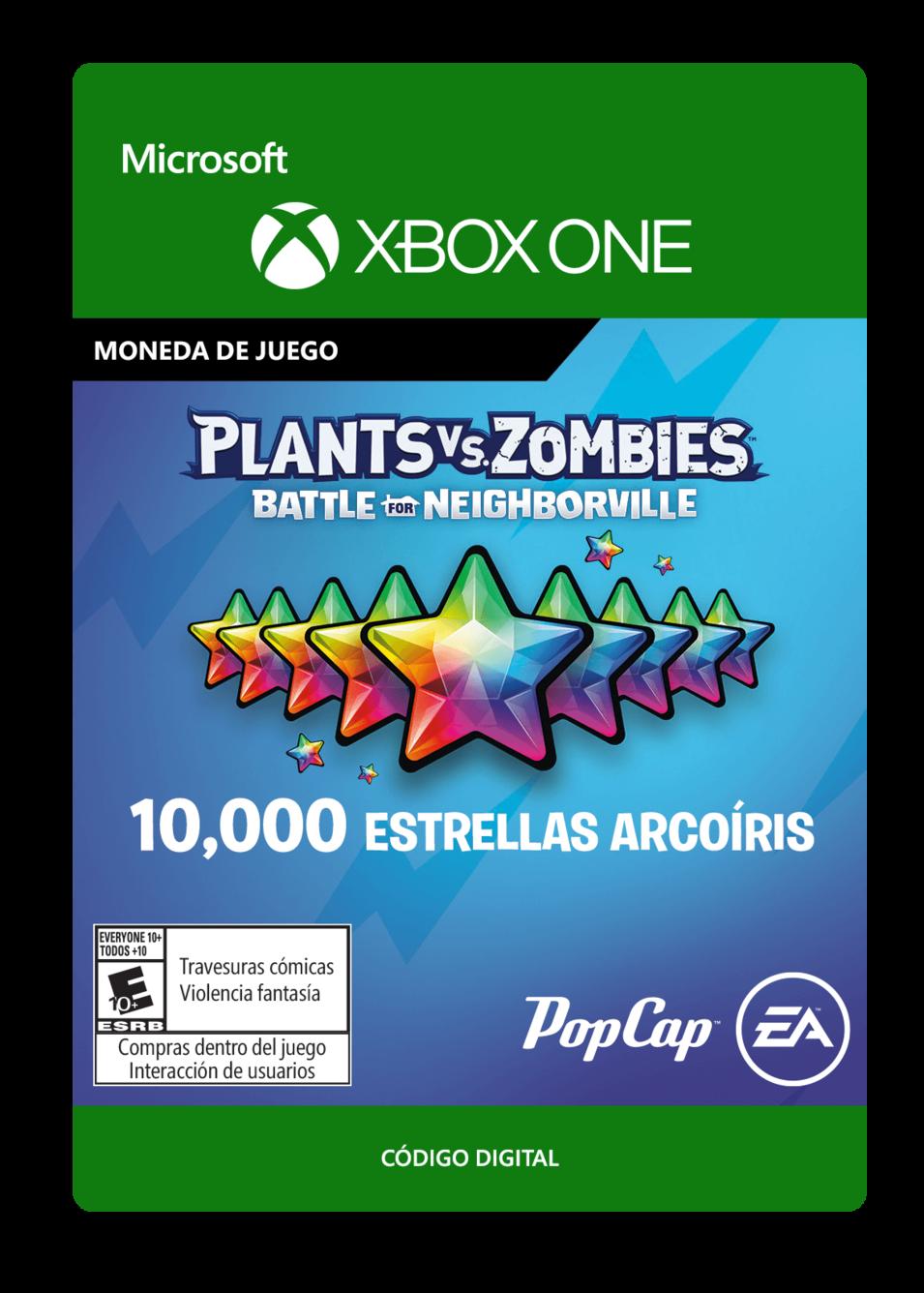 Plants vs. Zombies: Battle for Neighborville: 10000 Rainbow Stars Estrellas Arcoíris