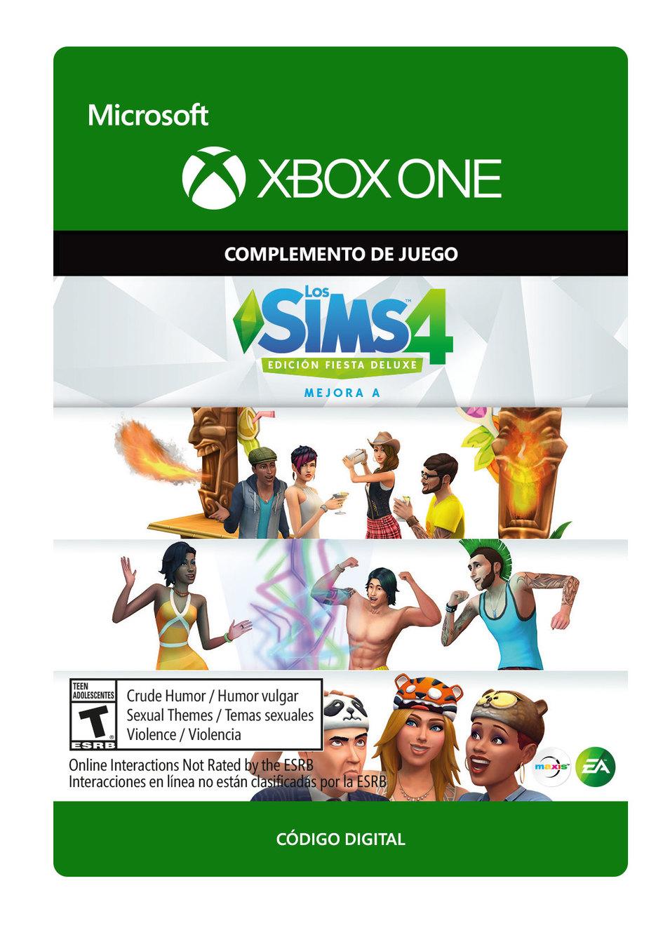 The Sims 4 Mejora a Edición Fiesta Deluxe