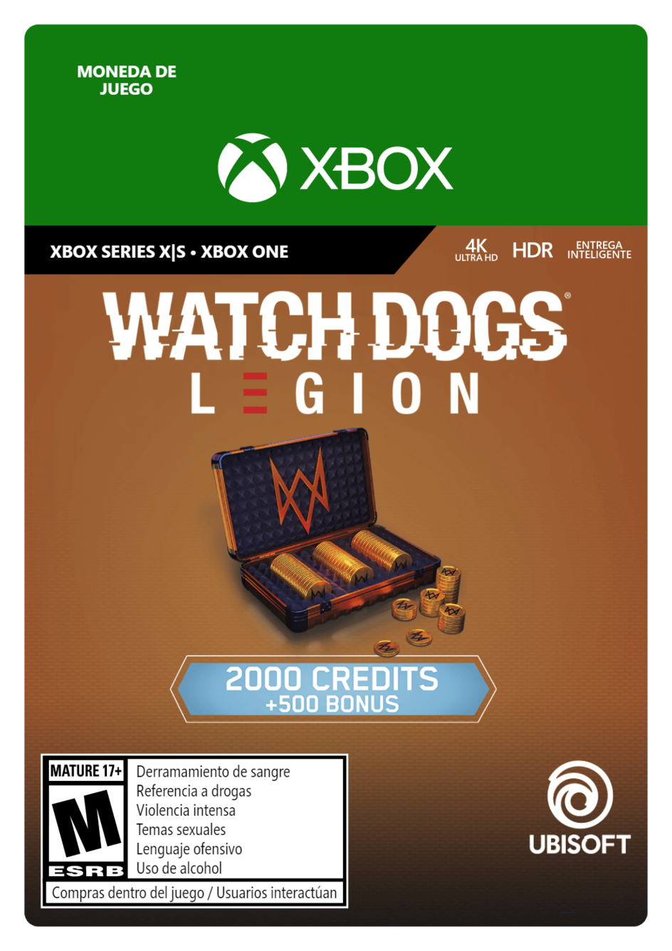 Watch Dogs Legion 2500 WD Credits