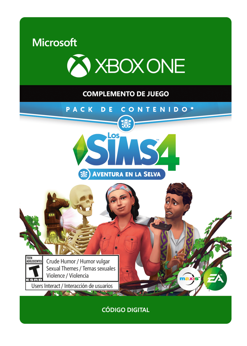 The Sims 4 Jungle Adventure Aventura en la selva DLC