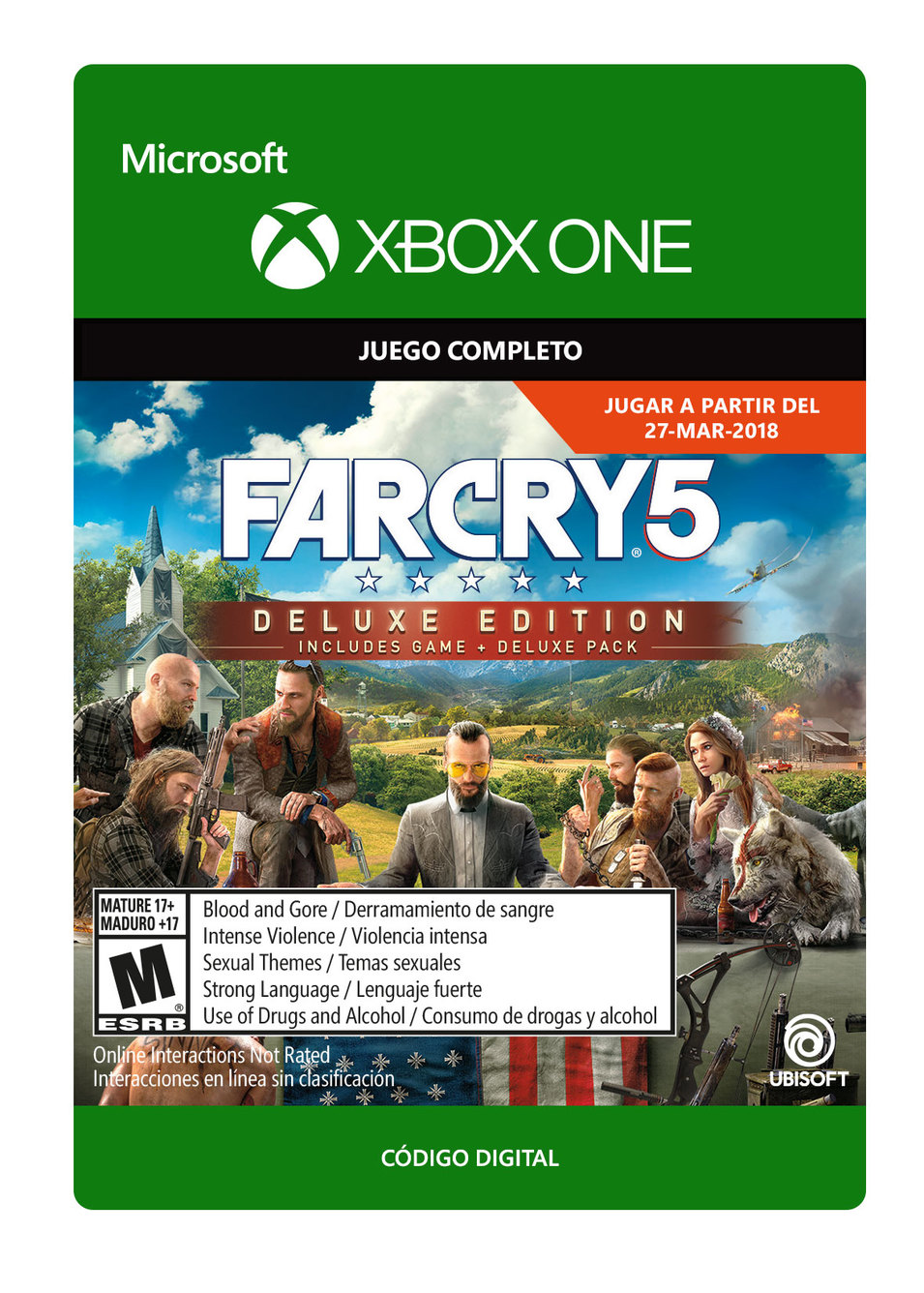 Far Cry 5 - Edición Deluxe