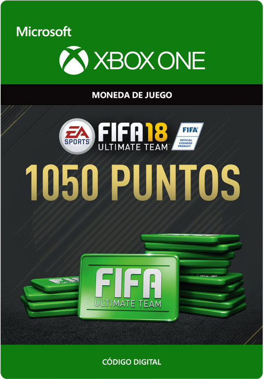 FIFA 18 Points Pack De 1050