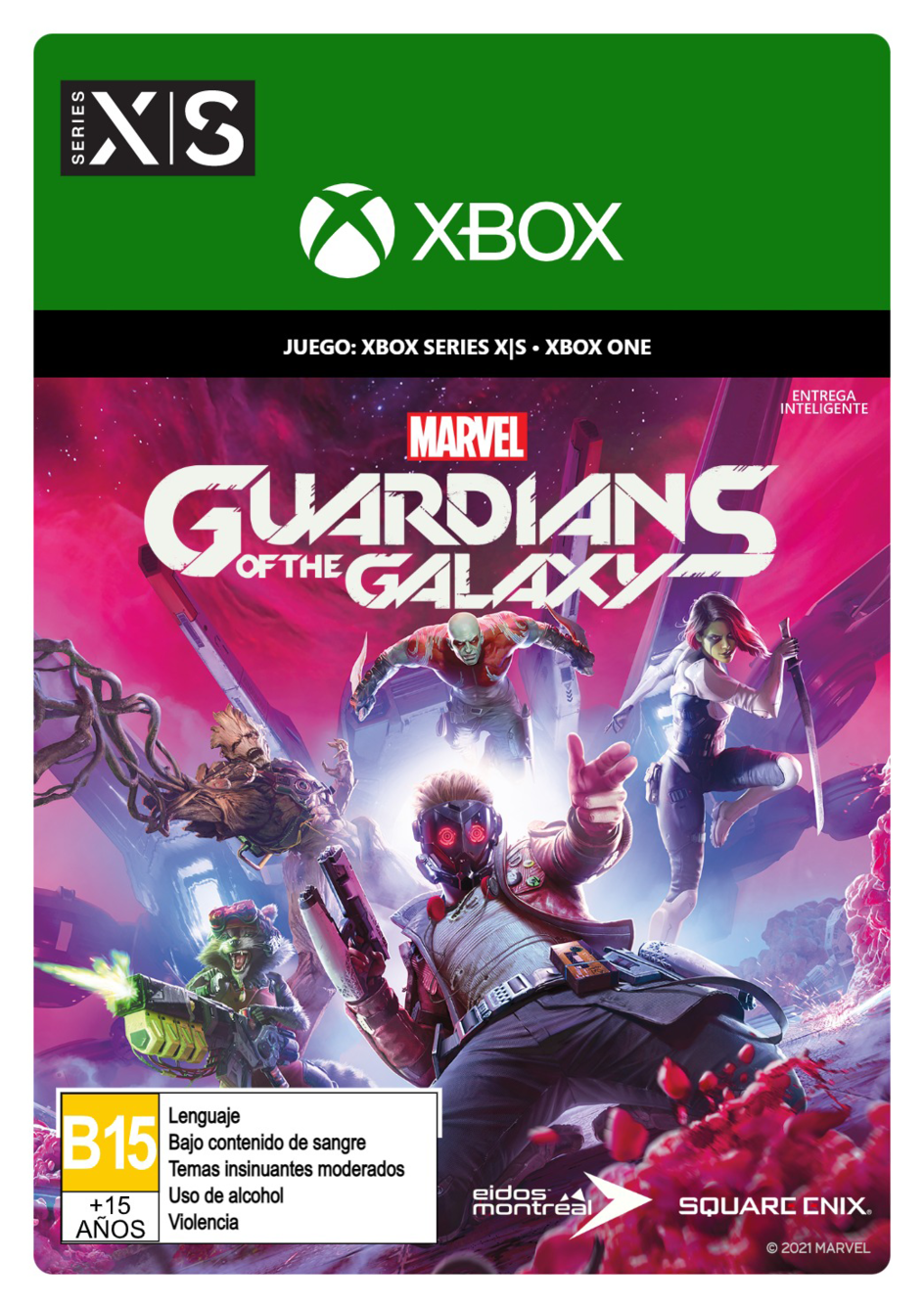 XBOX Marvel s Guardians of the Galaxy - Microsoft Xbox Series X - Microsoft Xbox Series S - Download