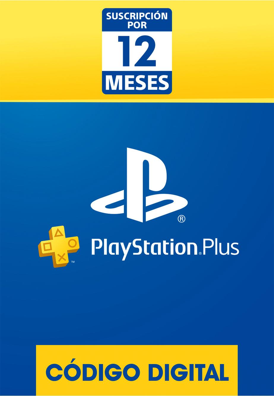 Membresía PlayStation Plus de 12 Meses