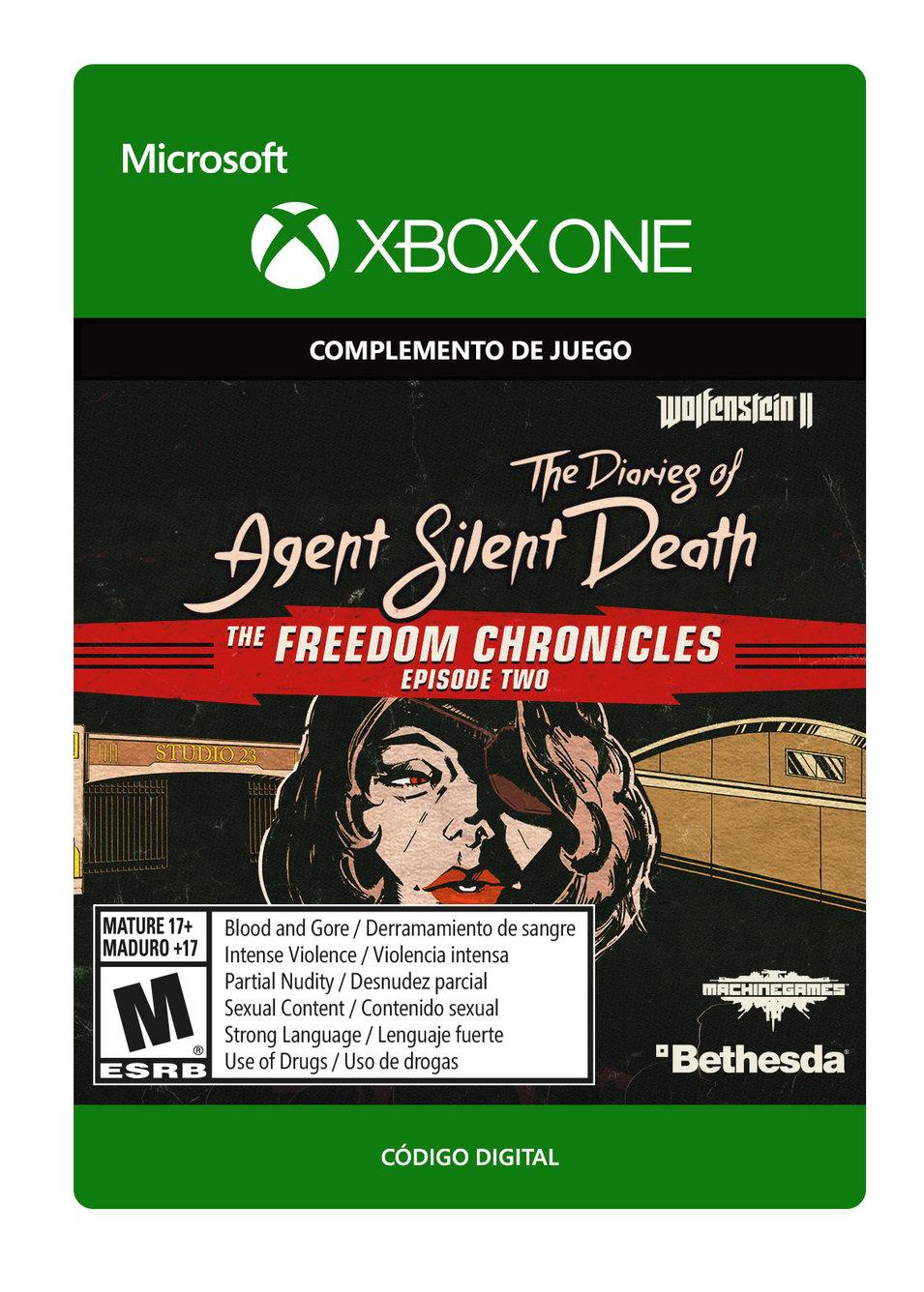 Wolfenstein II: Los diarios de la agente Muerte Silenciosa (DLC 2)