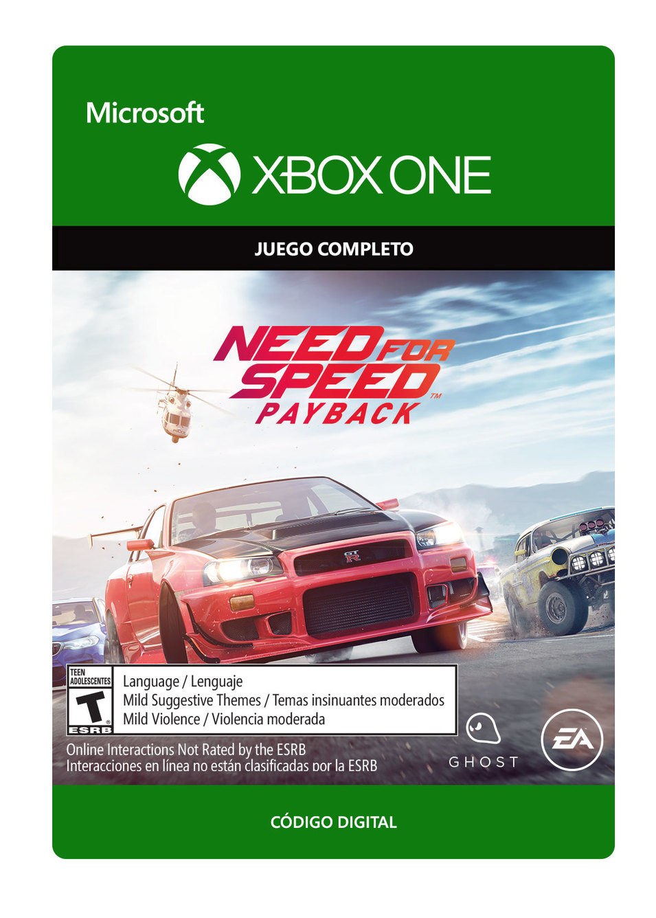 Need For Speed Payback Edición Estándar